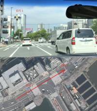 信号の見落としについて教えてください。恥ずかしながら信号を見落としそうになりました。 靖国通りを西から東に走行中、市谷見附交差点の信号1が黄色に切り替わり、停止するのは困難と瞬時に考え通過し素早く交差点を抜けようとしました。  その後、信号1の30m程度前にある信号2が赤になってました。 信号1と信号2は同じ市谷見附交差点の信号です。歩行者信号は死角で確認できませんでした。 しかし同じ...