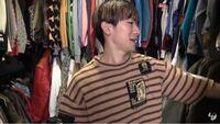 このNAOTOがきてる茶色のボーダーシャツのブランドわかる人いませんか??