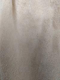 これはカビでしょうか? お世話になります。 バスタオルに、添付のような黒い斑点のようなものが見られるようになりました。 汚れや、他の洗濯物からの繊維の付着には思えないのですが、これはやはりカビでしょう...