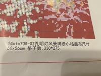 中国製の刺繍キットを購入した所、説明書に画像のような表記がありました。おそらく糸を何本取りなのか的な事が書いてあるのかな、と思っているのですが分かる方おりませんか?
