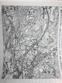 この地形図の縮尺の求め方を教えてください