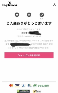 今日通販サイトで申し込みをしました。今までいろんなオンラインショップで申し込みをしてきましたが、今回初めて申し込みしたサイトが会員登録不要で個人情報とクレジット情報を入力して注文で きめしたが、注文...