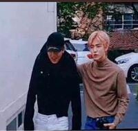 NCTのジェミンとヘチャンの写真はなんの動画なのでしょうか?