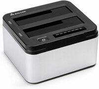 ぱそこんのハードディスクから音がするのでハードディスクを交換したいのですが古いハードディスクをコピーできる機械(クローン)で新しいハードディスクにデータを移し新しいのを取り付けたら今まで道理に使え...