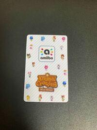 あつまれどうぶつの森のamiiboカードでこのamiiboカードは偽物(海外版)ですか?