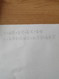 論理回路について質問です。Fの加法標準形を求めなさいという問題の解き方を教えていただきたいです。よろしくお願いいたします。