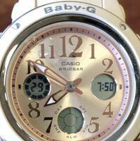 Baby G の5257番の時計なのですが、この状態は、アラームなど音はなりますか?? 今日模試があるので心配です。 早めにお願いしたいです!