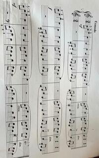 この楽譜の指番号とドレミわかる人いますか?? どっちかわかる人はどっちかでいいので教えてください!! よろしくお願いします!!