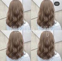 ブリーチなしのワンカラーでこの髪色は行けると思いますか? ちなみに、今まで染めた経験はなく初めてのカラーです。元の髪も茶色ではなく黒です。 回答よろしくお願いいたします!