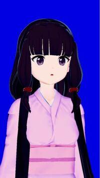 アニメでこういう風に横髪が結んであって膨れている髪型があるんですが この横髪の名前分かりますか?