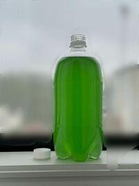 これってグリーンウォーターですか?色の濃さとかどうですか?