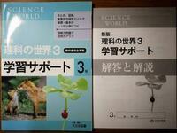 理科の中3のワークの答えを教えてください!  理科の世界3学習サポートです 答えの6ページを教えてください。
