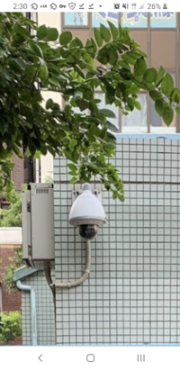 至急!!!!これは防犯カメラ、監視カメラでしょうか? とある駅前のトイレ外のものです。 詳しい方、切実に回答求めています。どうかよろしくお願いいたします。