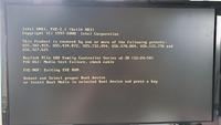 HDDからSSDに付け替えた時にReboot and Select proper Boot device〜 と出ました、ある程度調べてBootの順番が原因らしいのですがいまいち分からずにHDDに戻しても似たような文が出てしまいま した  boot devi...