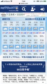 天気予報どれを信じたら良いですか?  7月11日、もしくは18日に宮島に行く予定ですが、弥山登山が目的なので、出来れば雨降ってない方が良いのですが、天気予報を見るとどれもバラバラでどれ を信じれば良いの...