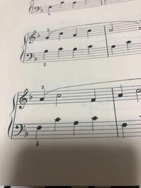 ヘ音記号のシ♭は高いシでも低いシでもつきますか??