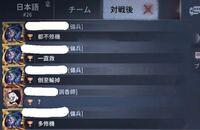第五人格の対戦後チャットなのですが、傭兵の方が何を言いたかったのか気になります。 中国語から日本語にGoogleをかけてみたのですが、理解不能でした。 誰か翻訳してください…。