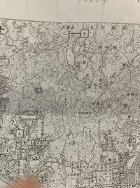 この地形図のBの地点の標高の求め方を教えてください。
