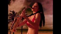サックス、管楽器に詳しい方、お願いします。 ①サザンオールスターズの「涙の海で抱かれたい~SEA OF LOVE~」のミュージックビデオで3:20あたりからサックスソロの部分がありますが、これはテナーサックスでしょ...