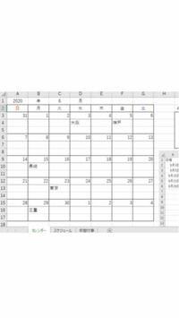 エクセルでカレンダーを作りました。 IFERROR(VLOOKUP…でシート名スケジュールから予定を表示させています。 この、関数の入ったセルをクリックし、ユーザーフォームを表示させる事って可能なのでしょうか?  例えば6月3日に大阪出張の予定のスケジュールが表示されていますが、それに関する時間等が書かれたフォームを表示させたいのです。スケジュールに関連する諸々は同じ行に全てあります。