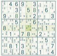 数独(ナンプレ)の解き方がわかりません。 このあとどう考えるべきですか?