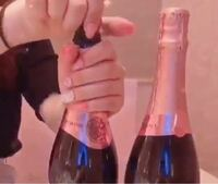 このシャンパンの銘柄わかる方いませんか? 分かっているのはラベルのこの部分だけです。   ジャニオタ 本人不在の誕生日会 オタク ジャニーズ 量産型 オリシャン ヲタク ジャニヲタ