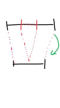 window10に搭載されている「フォト」で動画の途中にある不要な部分を除去する方法を教えてください。 画像のようなイメージです。
