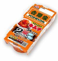 冷蔵庫から、未開封の吉野家キムチが でてきました。  賞味期限は7月30日。 3日前です。  あなたなら食べますか?