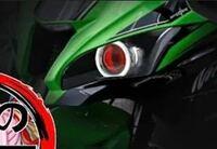 バイクについての質問です。 このイカリングは車検通りますか?