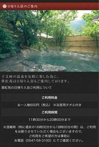 こちらの温泉宿ではで日帰り入浴(昼飯付プラン)というものをやっているそうですが予約すればカップルでも一緒に入れるようにできるのでしょうか?