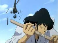 ルパン三世の石川五右衛門の斬鉄剣は、何が原料か知っていましたか。  ・。・?