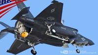 F-35Bが垂直離陸する動画です。 https://www.youtube.com/watch?v=1RVoY-wdYr8 兵器を目いっぱい積んだF-35Bは、垂直離陸できるんですかね?