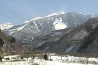 岐阜県の奥飛騨温泉郷辺りの山なのですが、この山の名前はなんでしょうか?また、場所を知りたいのですがどこかわかりますでしょうか?