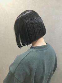 髪質が硬い人は写真のような切りっぱなしボブにする事はできないですか??