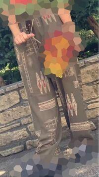 このズボンの柄はなんて言う柄名?ですか?