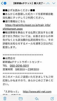 新幹線のEチケットを予約してこのようなメールが来たのですが、Suicaの番号を登録すれば改札でカードをタッチするだけで入れるのですか?
