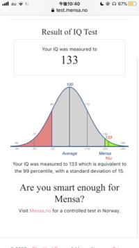【BAにはコイン100枚差し上げます】  メンサによる公式なIQテストについて  自分は現在高校3年生であるため、18歳から50歳?くらいまでを対象とした範囲を選択してこのテストを受けました。 そこで質問ですが...