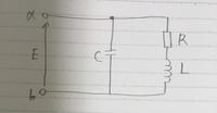 画像のようなRL直列回路にCが並列に繋がっている回路について質問です。 (1)ab間の電圧Eと電流Iが同相となるωを求めよ。 (2)ab間の電圧に対し電流Iがπ/4進むためのキャパシタンスCを求めよ  (1)は自分ではω=((R^2)C-L)/(CL^2)になりました。間違っていたらやり方と解答をお願いします。Zの虚数=0となるように計算しました。  (2)の解き方が分からずに困っ...