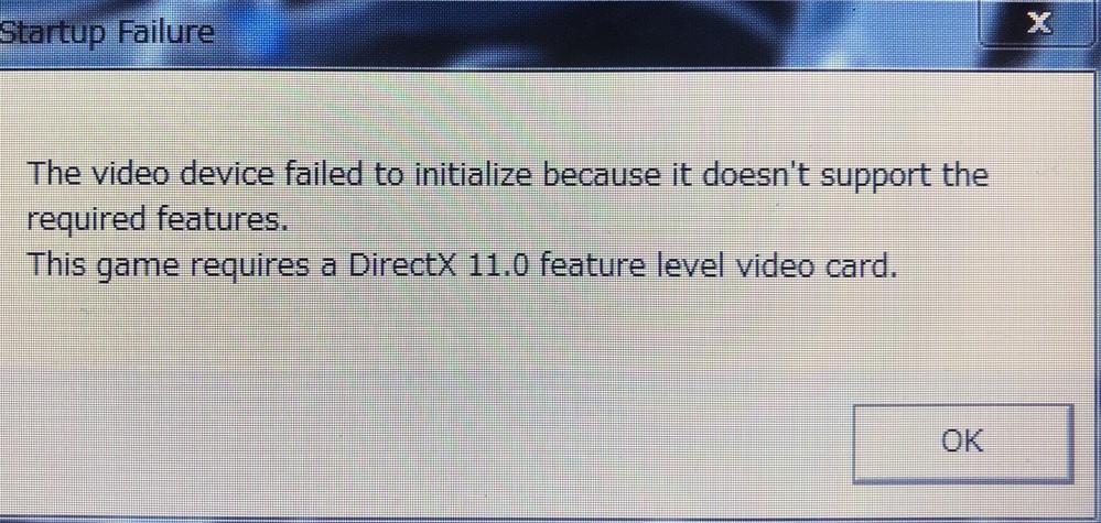 Windows 7でAPEXをしたいんですけど この画面が出てきてできないんですけど どーゆーことなんですかね?
