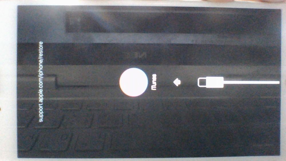 使用していないiphone5s(simフリー、解約済)があるのですが子供のいたずらで何回もパスコードを間違い、 「このiphoneは使えませんitunesに接続してください」との表示が出ていit...