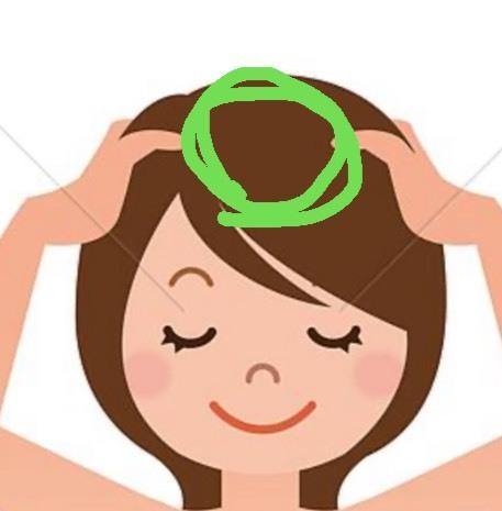 額の上あたりから頭頂部にかけて、指でマッサージするととても気持ちよくスッとするのですが、どういった事で凝るのでしょうか? それか、ツボが反応してるのでしょうか?