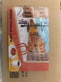 ミスタードーナツのカード? 今日住宅の新築の見学に行きました。その時ミスタードーナツの添付のカードを貰ったのですが、これって自分で現金をチャージしなくても使えるのですか?