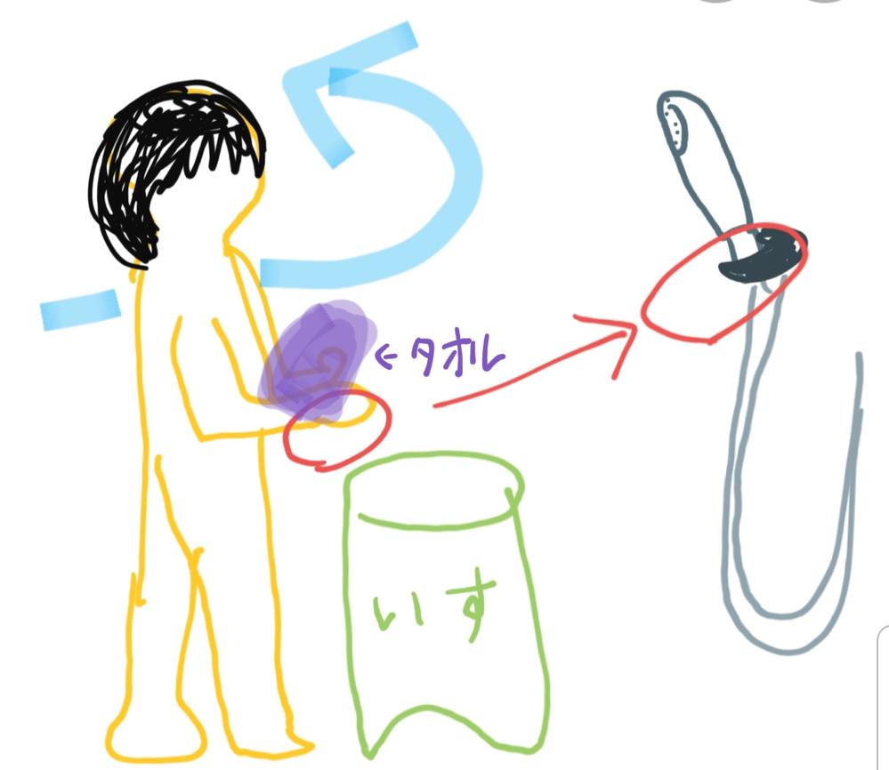 あるトラウマからシャワーホース及びシャワーのホルダー部分に触れることができません。 シャワーを浴びた後は、シャワーホースに異常がないか目視で確認するのですが、 万が一手がシャワーホースに触れて...
