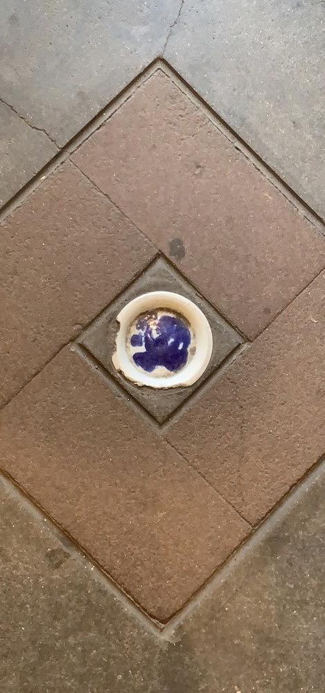 床材にお皿が埋まっているような、写真のようなものをなんというのでしょうか?