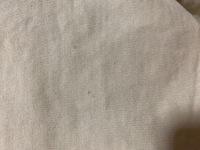 新品で買ったtシャツを着ずに一度洗濯したら、謎のシミのような斑点がでました何故でしょうか? 状況としては、ネットに入れて、おしゃれ着用洗剤、おしゃれ着洗いで洗濯したのですが謎のシミがつきました。洗濯機新しめで、定期的に自動洗浄しています。  シャツはユニクロUのベージュのシャツです。ちなみに他の白などのシャツは汚れはつきません。  服の染色や繊維のせいかとも思いましたが、汚れ方がそう...