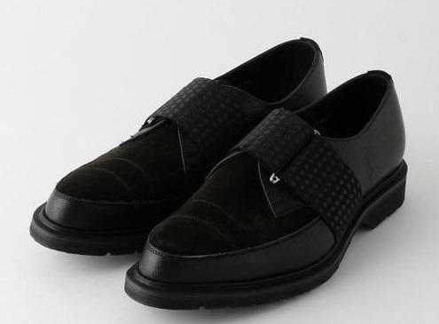 おすすめの革靴を教えてください 添付画像のような少しデザインの工夫があるシンプル寄りの黒い革靴を探しています。 似たような革靴、ブランドはありませんか。 (画像:art comes first...