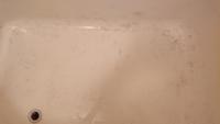 アパートの浴槽の黒ずみ?がまったく取れません。どうしたらよいのでしょうか?