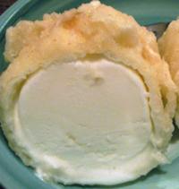 アイスクリームの天ぷらってうまいんか?  俺、アイスクリームの天ぷらなんか生まれて一度も食った事ないから味がわからへんねん。
