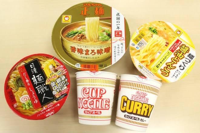 カップ麺、何が好きですか?