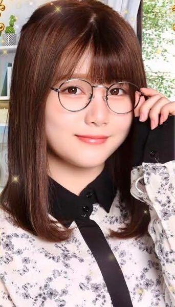 男性に質問。 この丸メガネを掛けている乃木坂46・伊藤理々杏ちゃんが可愛いと思いますか?
